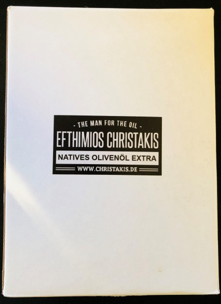 Natives Olivenöl extra 5 Liter Bag in Box Efthimios Christakis