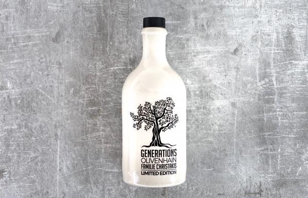 Natives Olivenöl extra aus dem Generations-Olivenhain der Familie Christakis 500 ml