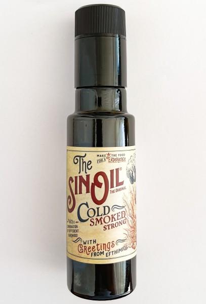 The Sin Oil Strong Smoked - Olivenöl intensiv geräuchert 100 ml