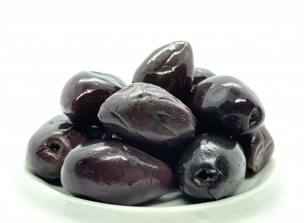 SMOKED Kalamon Olives 250 g - Mariniet in ''The Sin Oil Smoked''